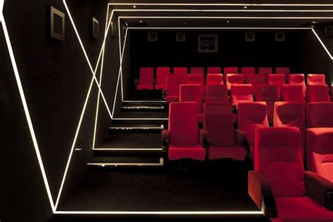real d screening room w hotel interior leicester square conference theatre room hospitality