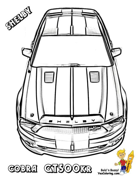 Ford Coloring Pages For Kids Svtperformance Com Printable Coloring Pages Gt Number