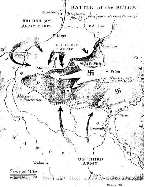 Battle Of The Bulge Essay by The Ardennes Battle Of The Bulge
