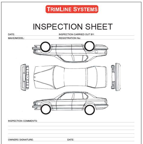 vehicle report diagram vehicle inspection diagram vehicle get free image