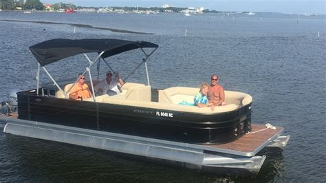 pontoon boat rental wildwood boat rentals shell island tours