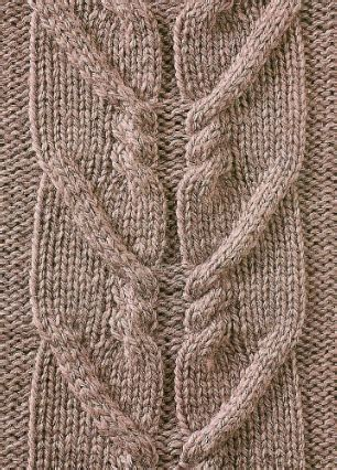 zig zag cable pattern zig zag cable with moss stitch knitting kingdom