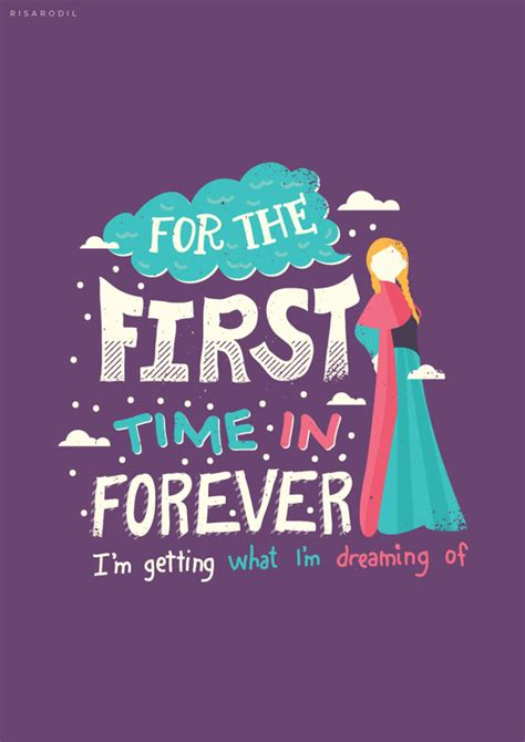 printable frozen quotes beautiful typography of disney move frozen by risa rodil