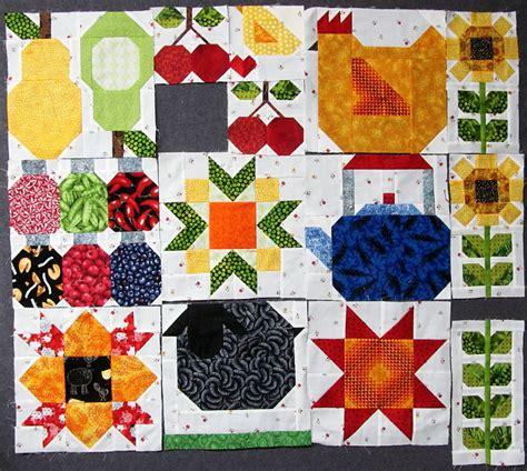 Farm Quilts by Exuberant Color Farm Quilt Progress