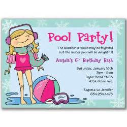winter pool invitations for reserved for by milelj