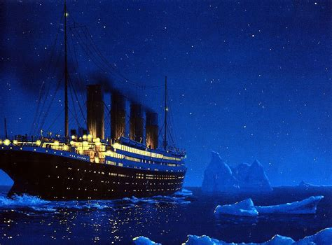 Titanic Before Sinking titanic in the stacks