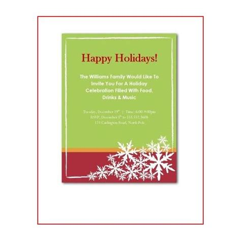 party invitations holiday party invite wording free
