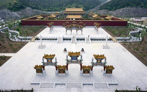 film china eastern replica of beijing old summer palace opens at hengdian