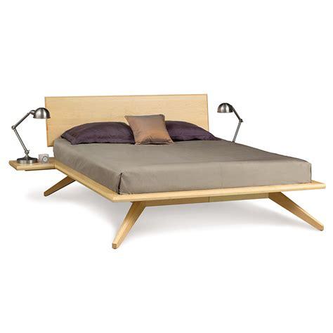 maple platform bed modern contemporary astrid platform bed solid maple wood