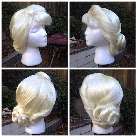 coronation hair treatment snow queen elsa coronation style wig made to order by
