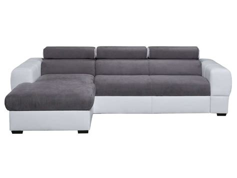 Canapé D Angle Convertible 5 Places by Canap 233 D Angle Convertible Gauche 5 Places Tresor Coloris