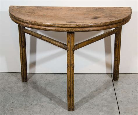 Half Moon Table Antique Half Moon Table For Sale At 1stdibs