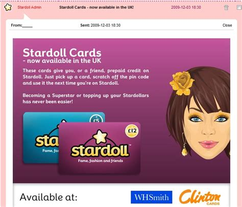 Stardoll Gift Cards - prepaid cards for uk here theperfectmess x stardoll