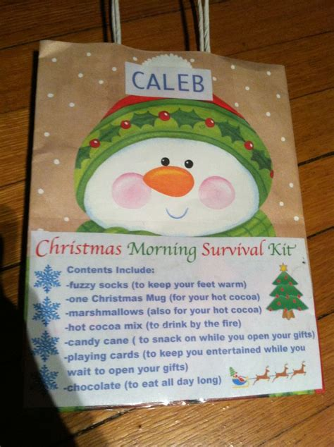 christmas grinch survival kit morning survival kit holidays morning mornings and survival