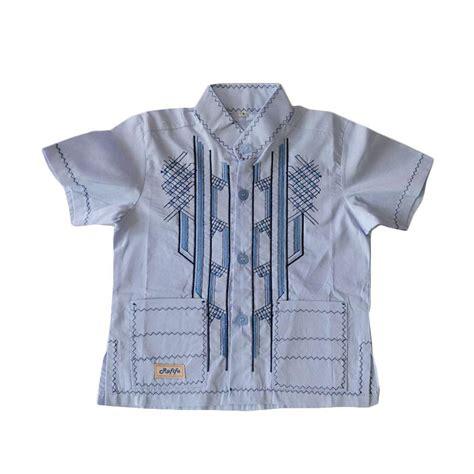 Koko Pendek jual rafifa koko pendek model d baju koko anak biru