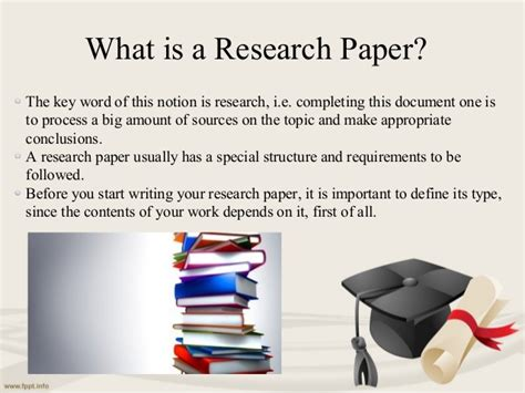 what are the two types of research papers types of research papers