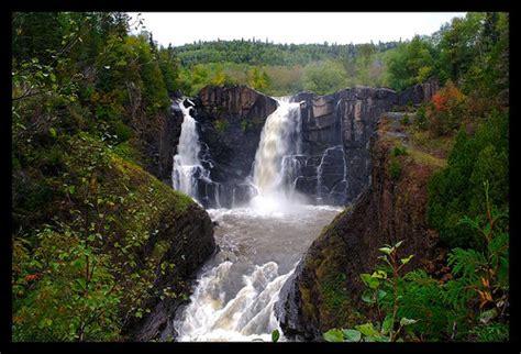 high falls garden high falls grand portage state park minnesota canada