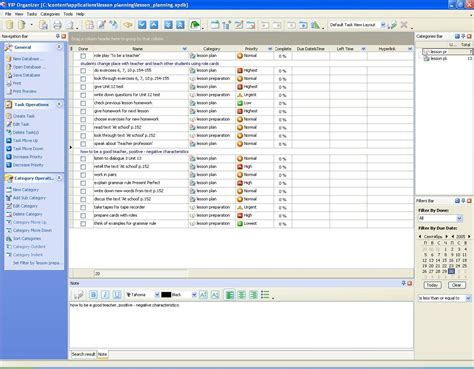 test checklist images