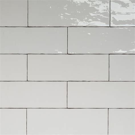 Handmade Wall Tiles - handmade white gloss natura wall subway tiles 396 215 130 in