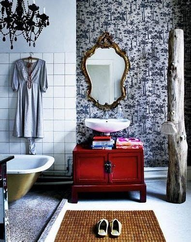 Funky Wallpaper For Bathrooms by Funky Bathroom Home