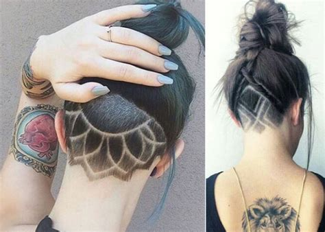 hair tattoo tribal hair tattoos are the trend you to try