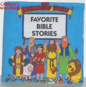 Children S Bedtime Bible Stories Bible Stories Cloth Soft Book Christian Faith Ebay