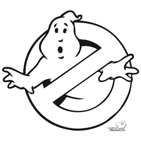 coloring pages ghostbusters ghostbusters coloring pages disfraz de logo de