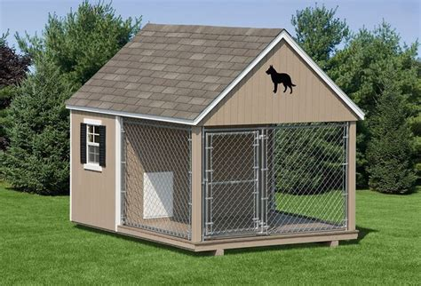 Outdoor Dog Kennels For Sale Dog Kennels Dog Kennel 10 Wide Amish Backyard