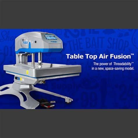 table top 16x20 hotronix 174 air fusion heat press stahls