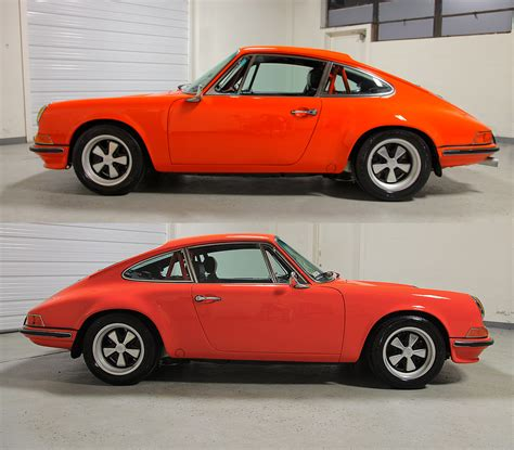 Porsche R Gruppe by 1970 Porsche 911s R Gruppe Tangerine 64 000 Sloan Cars