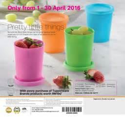 Tupperware catalog 01 april 2016 15 may 2016 tupperware kakakshop