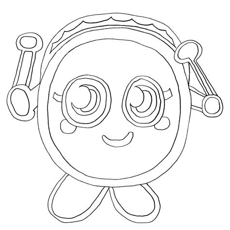 Free Printable Moshi Monster Coloring Pages For Kids Moshi Colouring Pages
