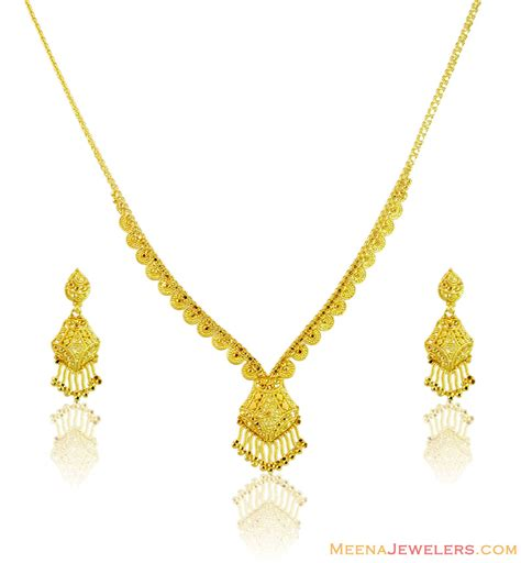light weight set light weight gold necklace sets with price imgkid