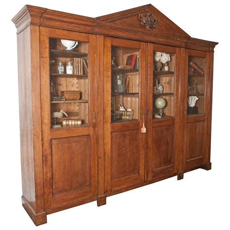 library bookshelves for sale large antique oak library bookcase in neoclassical style for sale at 1stdibs