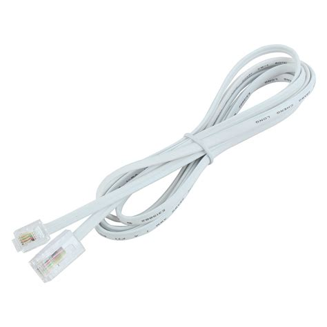rj11 to rj45 patch cable image gallery rj11 cord
