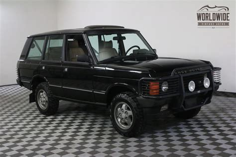 old car repair manuals 1994 land rover range rover windshield wipe control 1994 black 127k auto ac range rover classic used land