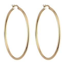 gold hoop earings 9ct gold large hoop earrings jewellery fraser hart jewellers