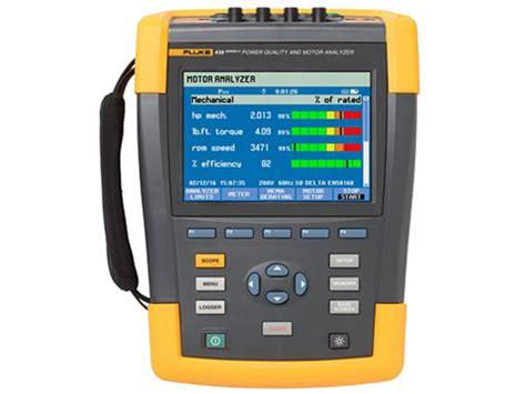 Murah Power Quality Tester fluke 438 ii power quality motor analyzer power quality analyzers instrumart