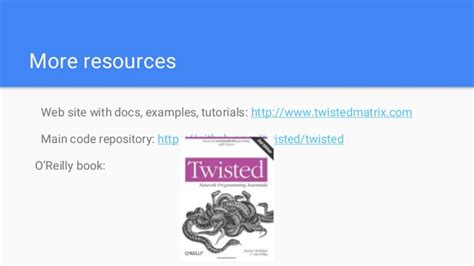 tutorial python twisted the onward journey porting twisted to python 3
