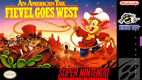 An American Review An American Trail Fievel Goes West Snes Review