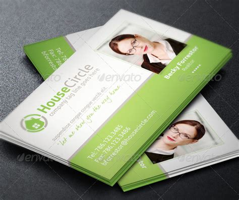 30 real estate business card templates tutorial zone