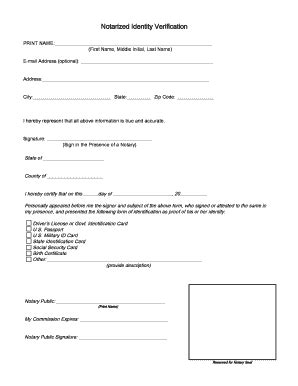 format templates temp id fill printable notarized verification fill printable fillable
