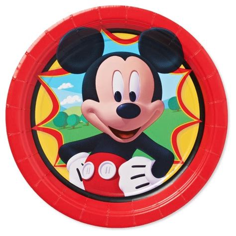Paper Plates 7 Mickey Isi 8 8 ct mickey mouse snack plate target