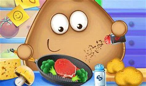 giochi di pou cucina in cucina con pou pou real cooking il gioco