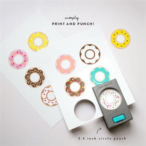 printable donut images donut printables oh happy day bloglovin