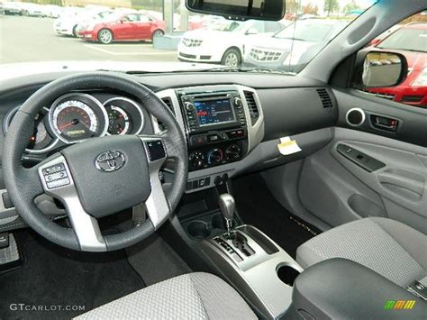 Toyota Tacoma 2013 Interior by Graphite Interior 2013 Toyota Tacoma Sr5 Prerunner Access Cab Photo 73975354 Gtcarlot