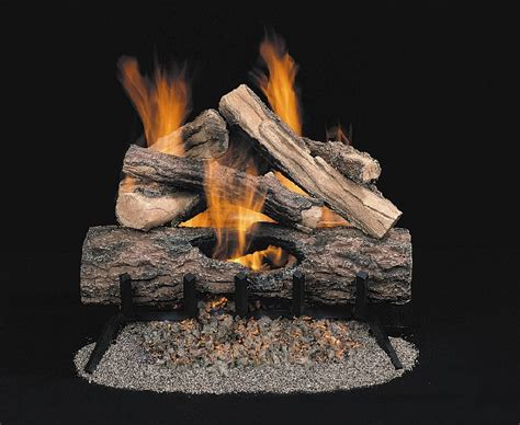 comfort glow gas logs comfort glow gold series vented gas log sets
