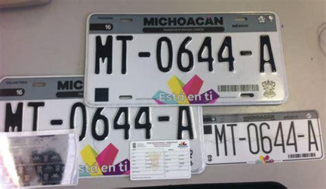 informacion de las nuevas placas en michoacan 2016 sfa alerta sfa sobre licencias de conductor ap 243 crifas