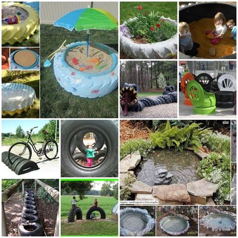 Wonderfull Recycled Ls Ideas Wonderful Diy 10 Ways To Reuse Tires Diy Ideas Tired And Reuse