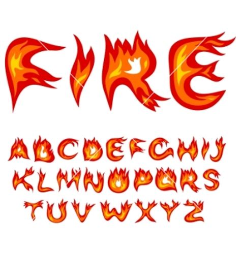 printable flame font fire fonts flames pictures to pin on pinterest pinsdaddy